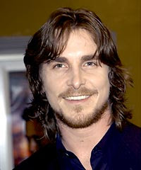 CHRISTIAN BALE HAIRSTYLES - LONG WAVY HAIRCUT