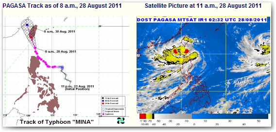 bagyong mina update august 2011