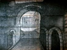 Charcoal ruins