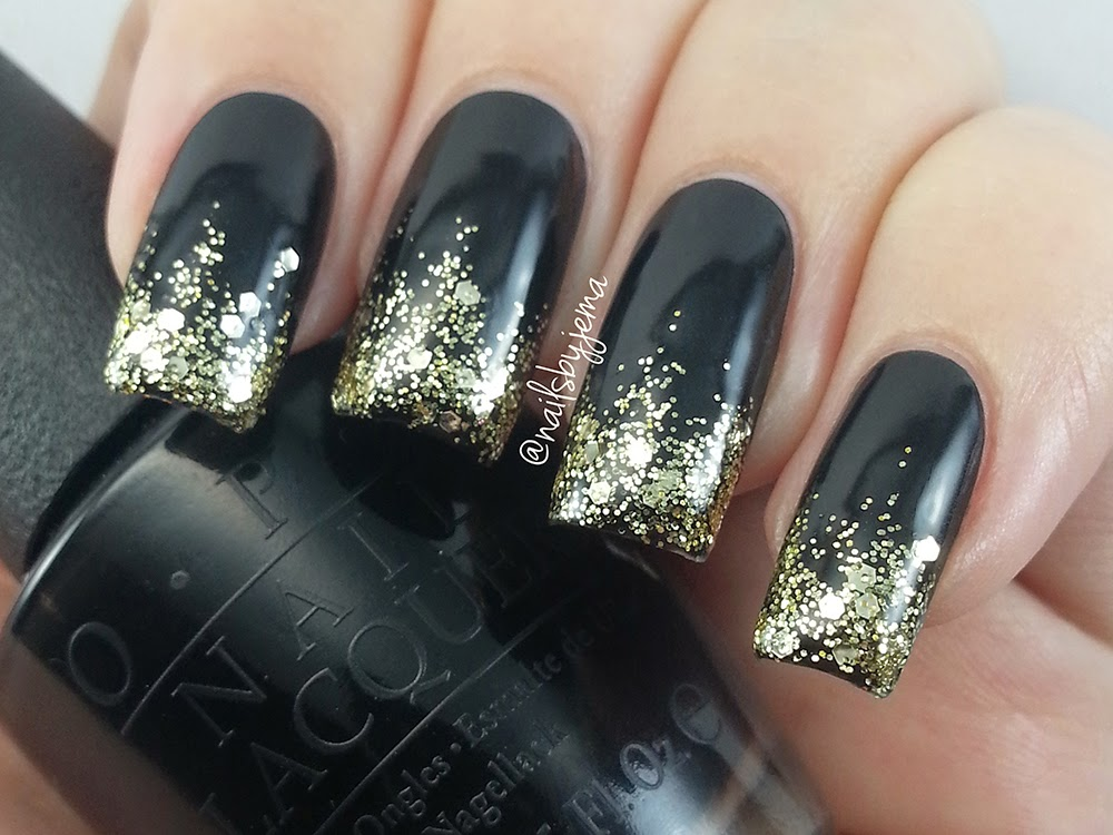 N A I L S B Y J E M A: Glitter Tip Nails For New Years & Full ...