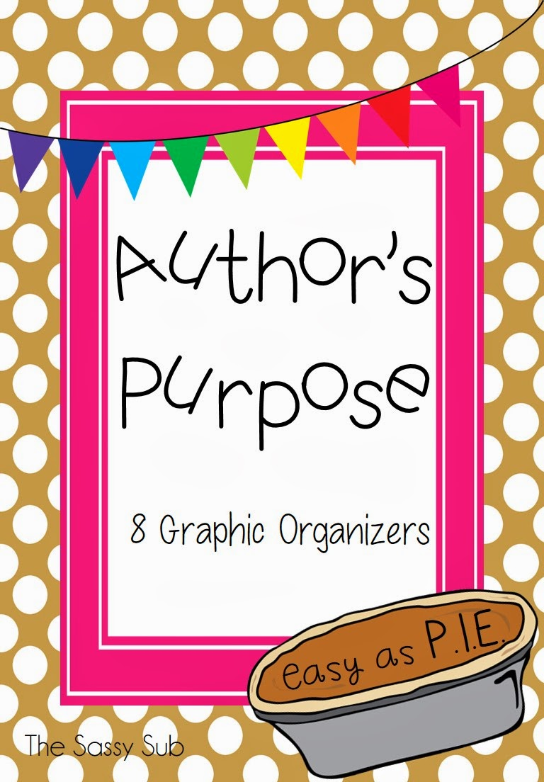 http://www.teacherspayteachers.com/Product/Authors-Purpose-Graphic-Organizers-1157684