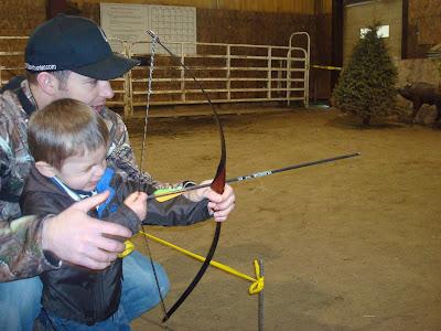 3D Archery kids