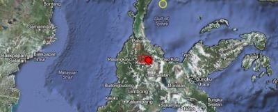 TERREMOTO DE 6,6 GRADOS SACUDE SULAWESI, INDONESIA, EL 18 DE AGOSTO 2012