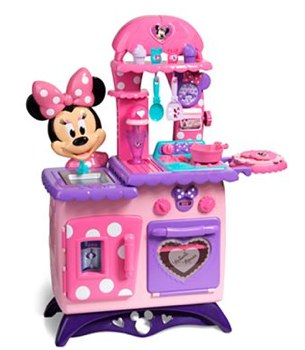 Minnie Mouse Bowtique Flippin\' Fun Kitchen Only $60 Shipped (Cash ...