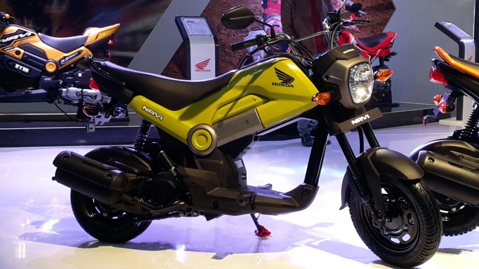 honda launched cheapest mini bike navi in 2016 bike car. Black Bedroom Furniture Sets. Home Design Ideas