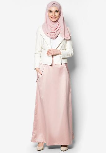 Fesyen Skirt Labuh Muslimah By Zalora
