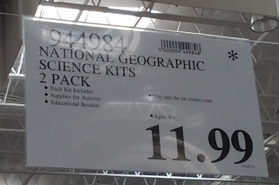 Deal for a 2 pack  of National Geographic Science Kits at Costco