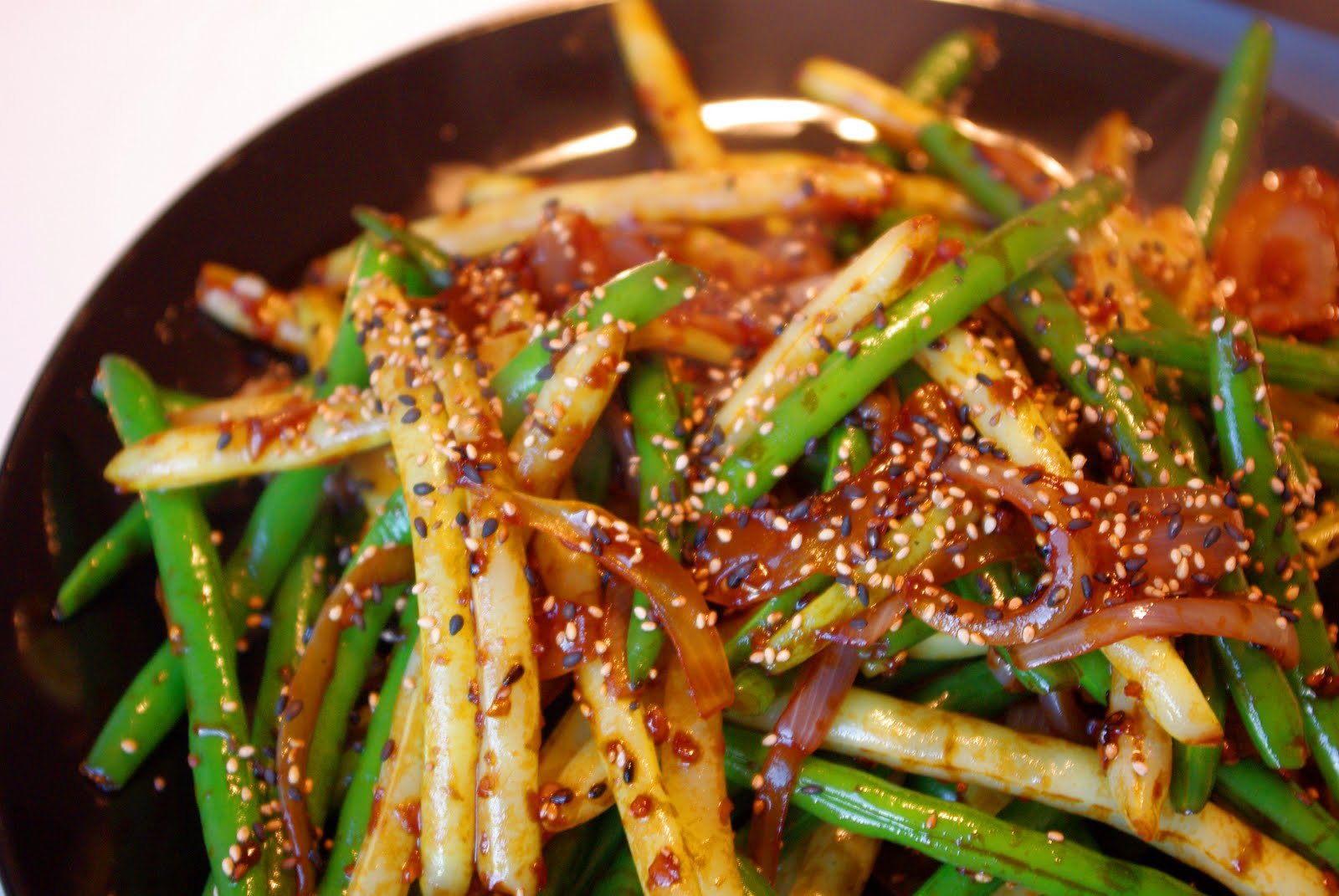 That Time I Cooked a Vegetable: Sesame Ginger Green Beans