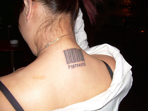 Tattoos For Girls Back Of Neck