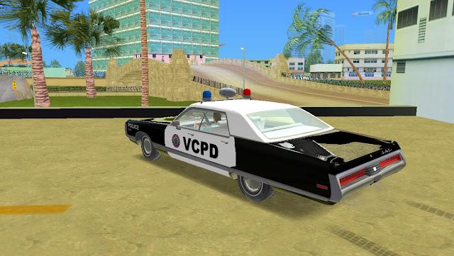 Chrysler New Yorker 4 Door Hardtop Police 1971 GTA Vice City