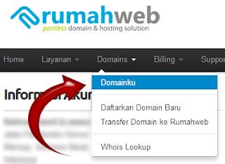 Cara mensetting DNS Record Admin Cpanel Rumahweb.com