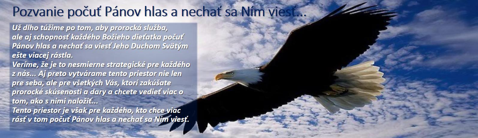 Pozvanie počuť Pánov hlas a nechať sa Ním viesť...