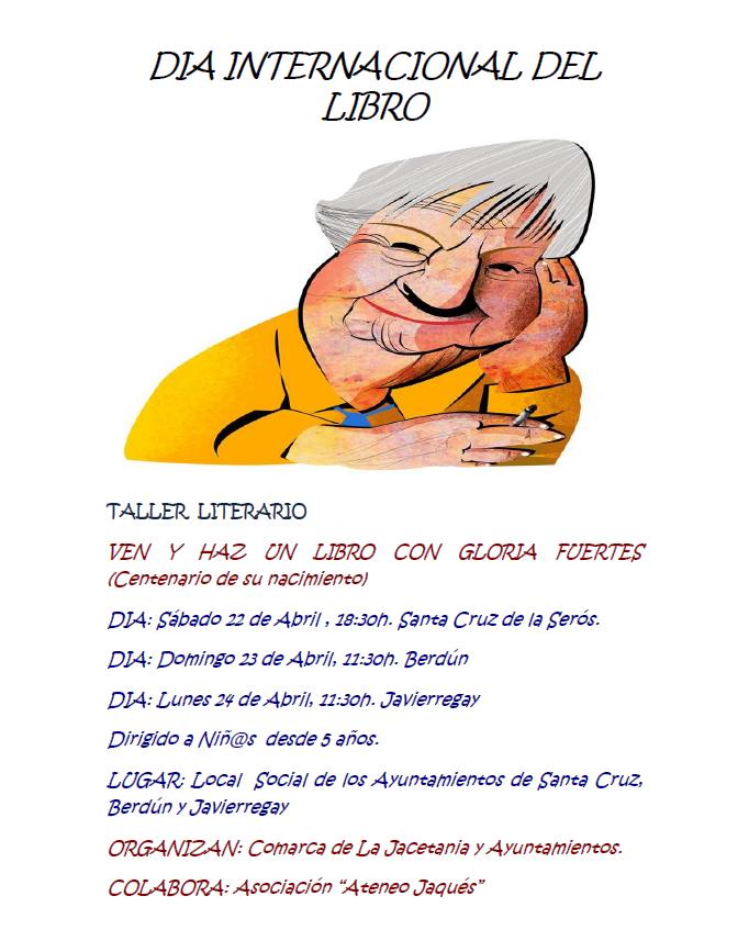 Talleres de ediciones artesanales y poesía con Gloria Fuertes