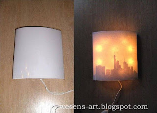 Lamp from Canvas 13     wesens-art.blogspot.com