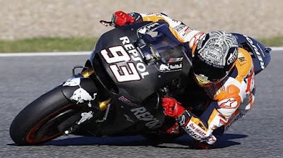 Marc Marquez Dan Dani Pedrosa Selesaikan Latihan Hari Pertama Di Jerez
