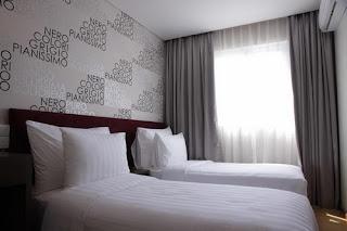 Foto kamar tidur hotel