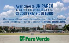 "RACCOLTA FONDI per spese legali ricorso ""Master plan"" - Ex Romagnoli"