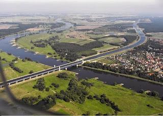 Jembatan Air Magdeburg Terpanjang Di Dunia