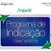 Jequiti: Programa de Indicação Ciclo 15/2015