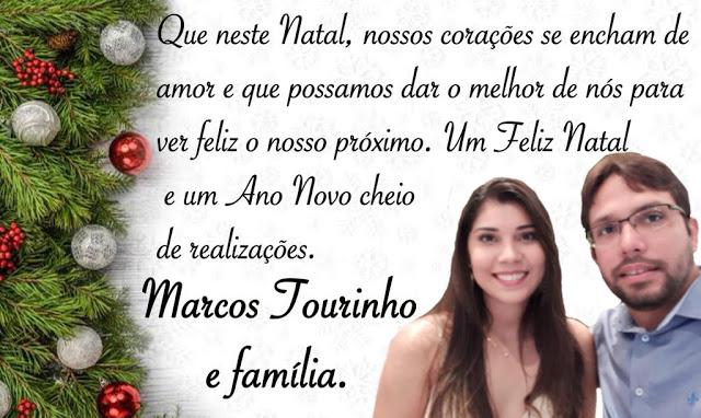 Mensagem de NATAL do vereador e próximo Presidente da Câmara de Coelho Neto, MARCOS TOURINHO.