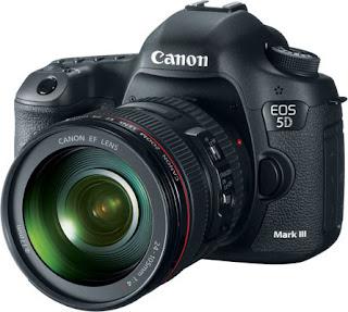 Canon EOS 5D Mark III Kit SLR Profissional Camera