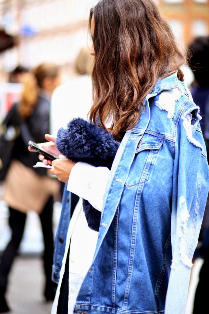 denim clothes street style