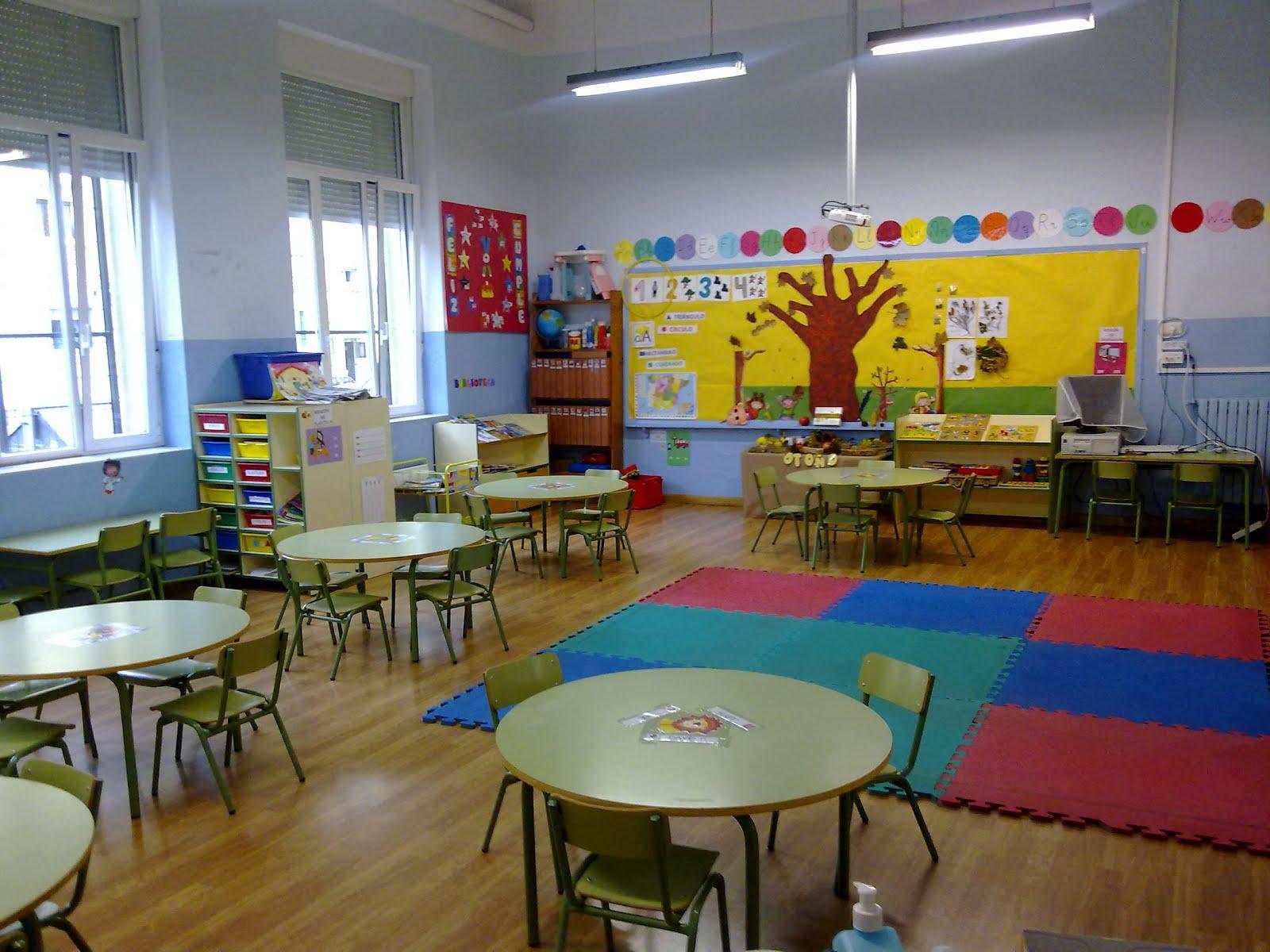 Adictos a las tic aula for Decoracion aula infantil