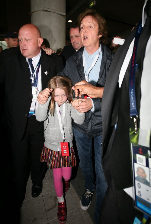 Paul And Beatrice At Wembley Staium Yesterday For The Champions League Final