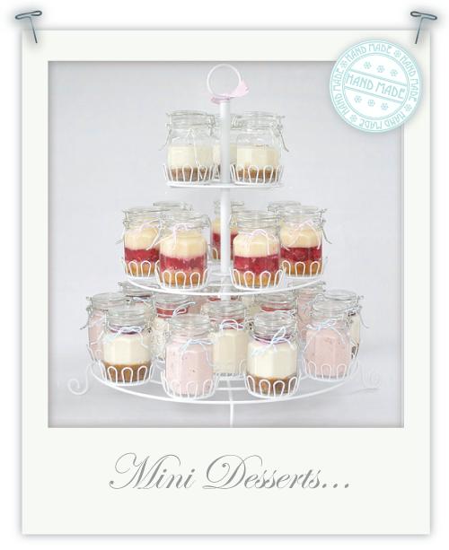 Mini gluten free desserts