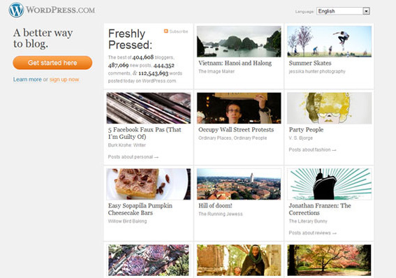 wordpress,free wordpress template for blogger template,free content management