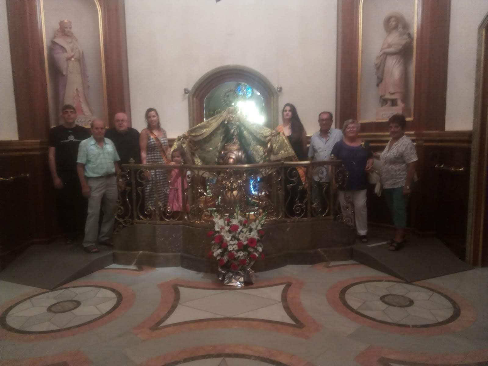 Festivitat de sant Cristòfol al Santuari