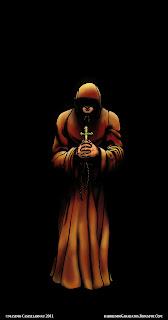screenshot the monk, el monje, color photoshop, pruebas de color, foco de luz, foco, maximo, sombra, shadow, sombras