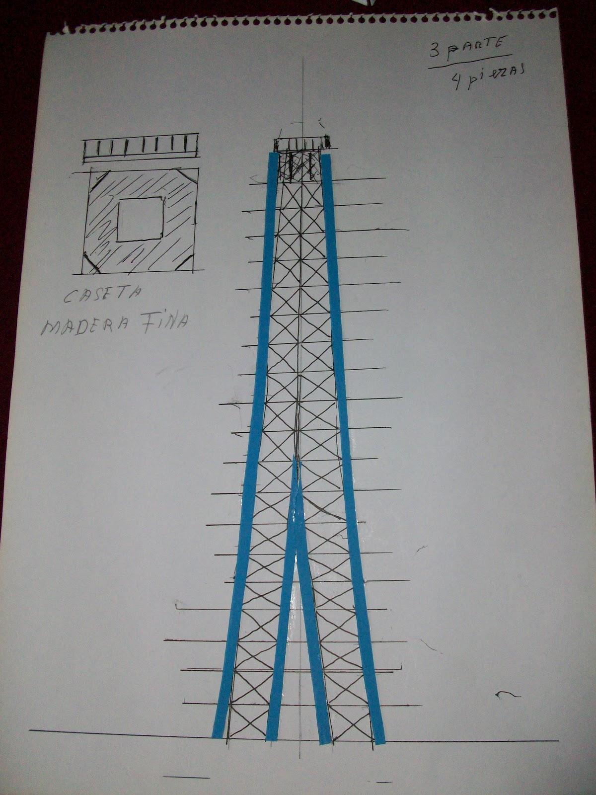 El mundo en palillos especial torre eiffel ii for Hacer planos online facil