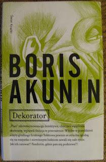 okładka ksiażki Dekorator Boris Akunin