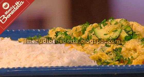Pollo al Curry con Riso Basmati di Benedetta Parodi