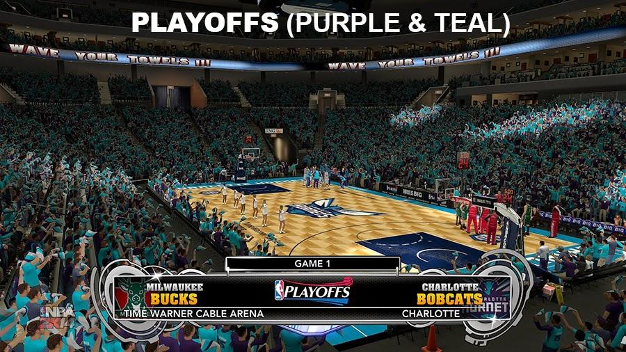 2014-15 CHA Hornets NBA 2K14 Update