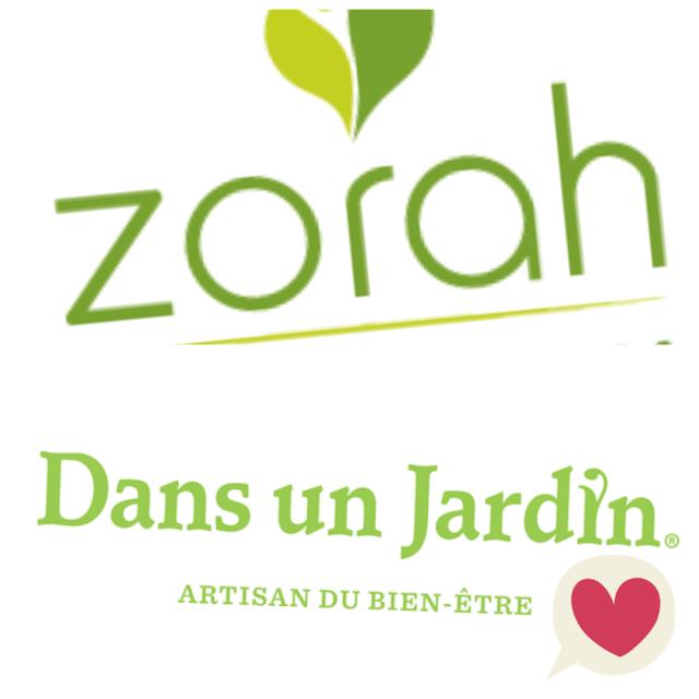 Zorah maintenant disponible dans les Boutiques Dans Un Jardin
