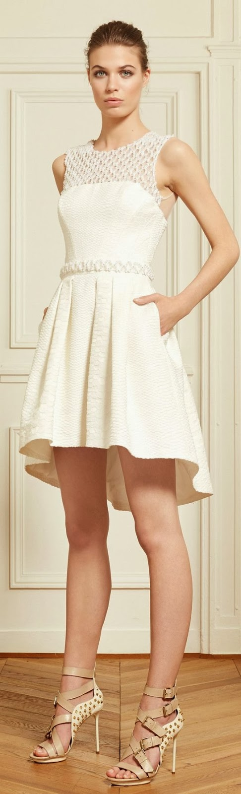 Stunning White Party Dress