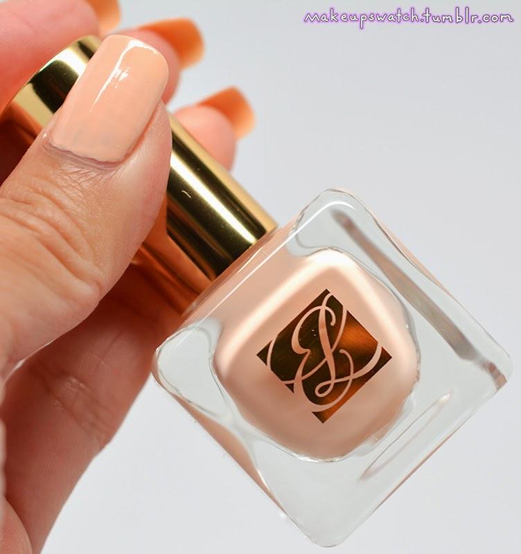makeup: Estee Lauder Pure Color Nail Lacquer No. M0 Bare