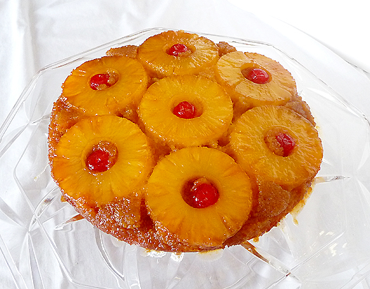 Pineapple Upside Down Cake Recipe And Procedure