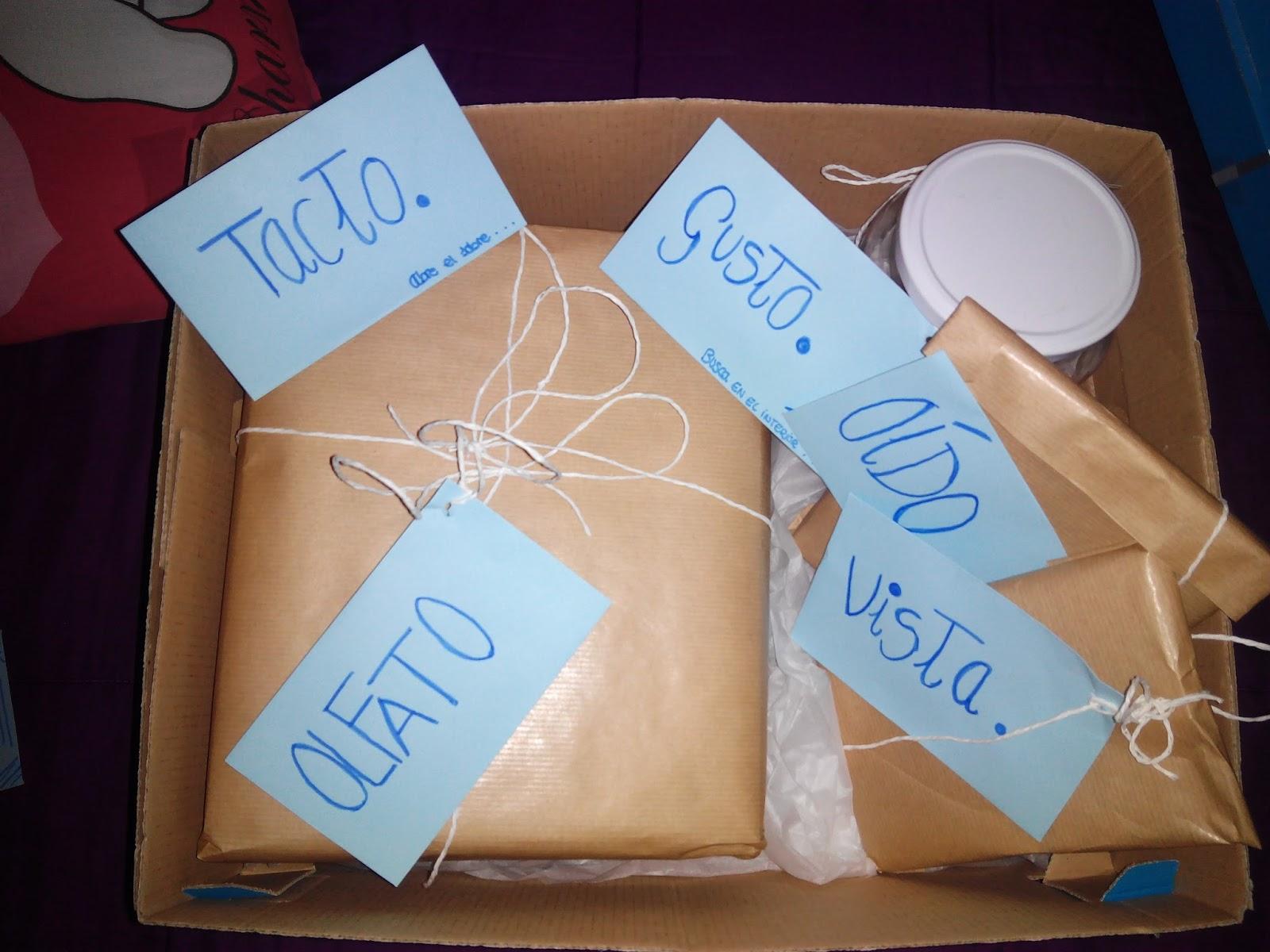 Regalos para navidad caja de los 5 sentidos - Regalos para la vista ...