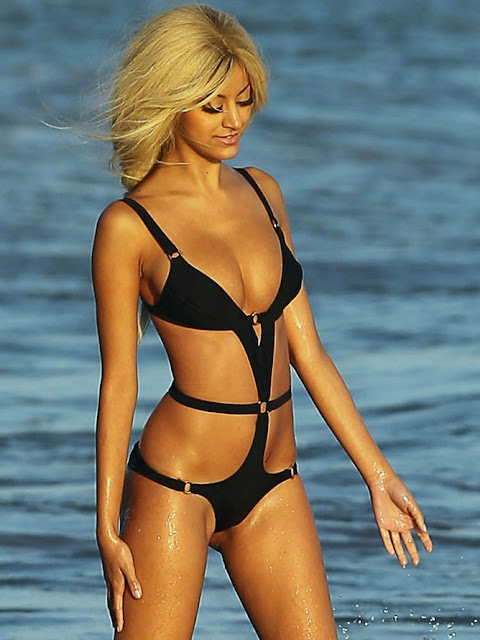 Zahia Dehar in Swimwear
