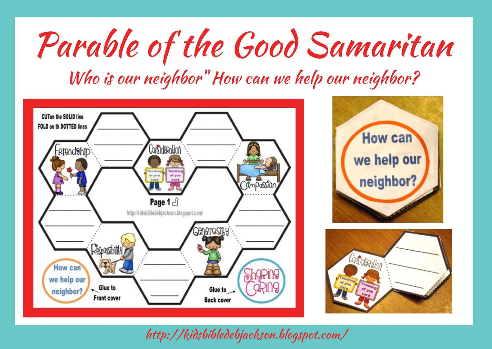 Good Samaritan Printable Crafts