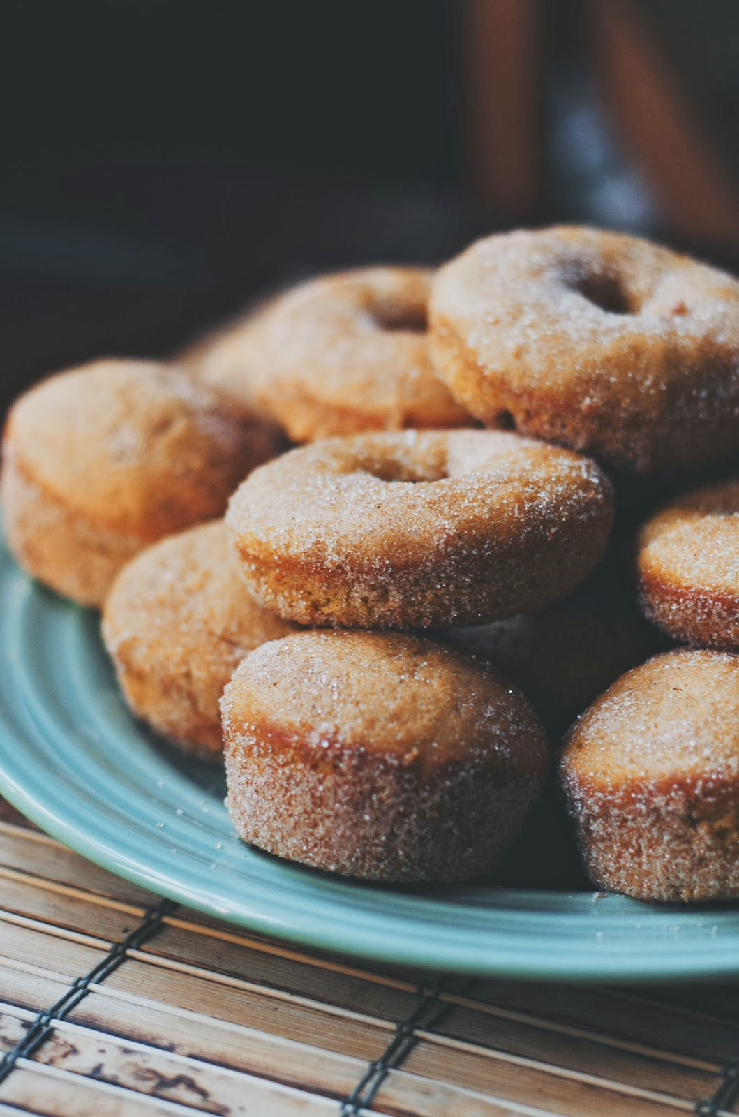 The Ginger Cook: Cinnamon Sugar Pumpkin Doughnuts and Muffins