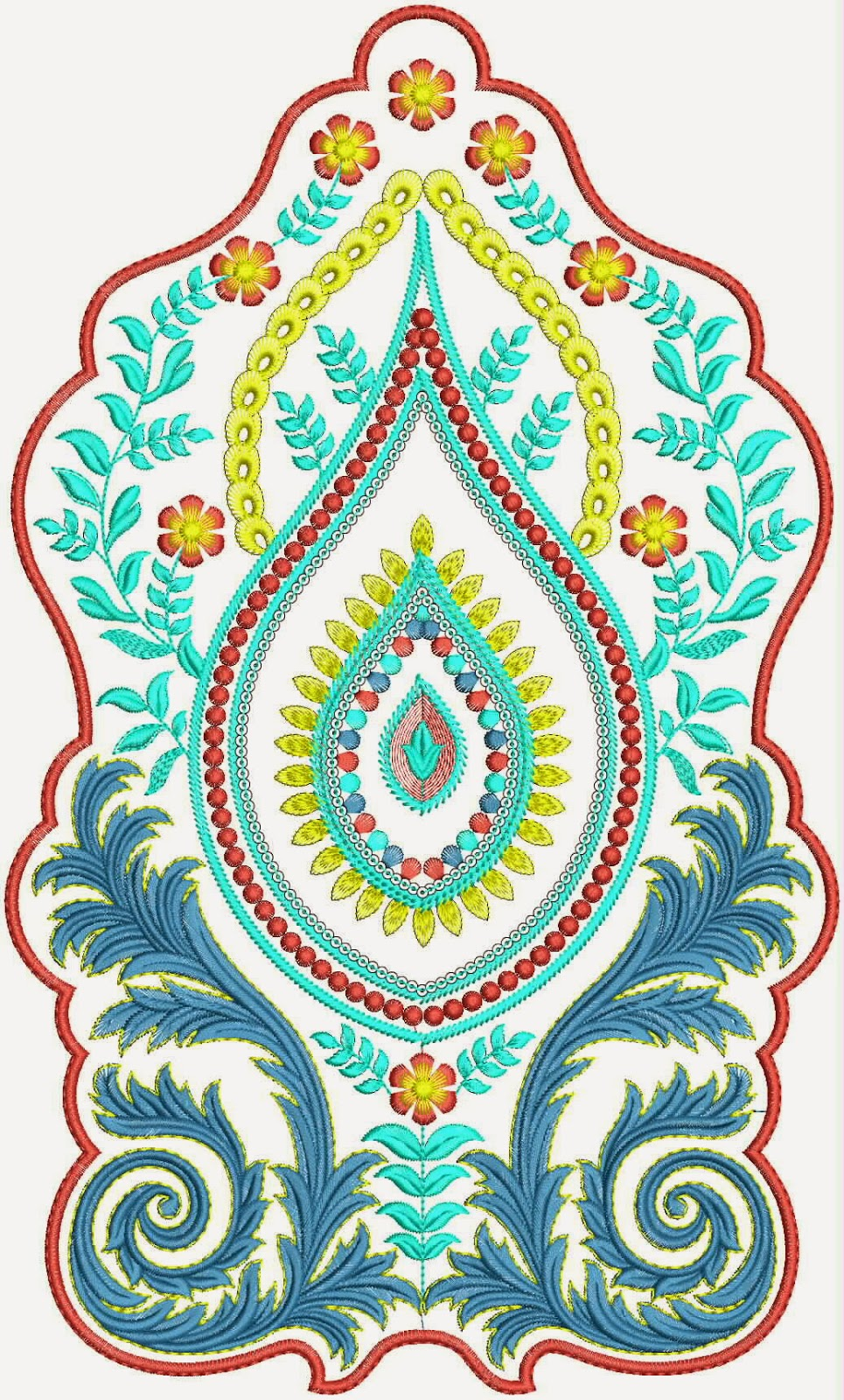 Embdesigntube Exquisite Attractive Embroidery Patch Designs