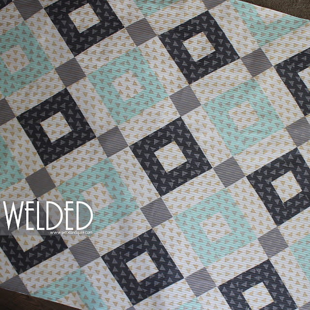 Quilt Patterns 4 Different Fabrics : Piece N Quilt: Welded - An AGF Stitched Free Pattern & a Give-Away!