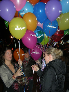 The shopping Night Barcelona 2012 Desigual