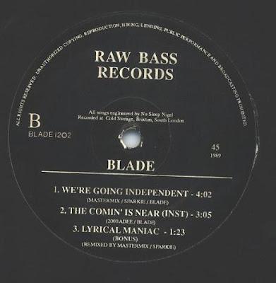 Blade – Lyrical Maniac (EP) (1989) (192 kbps)