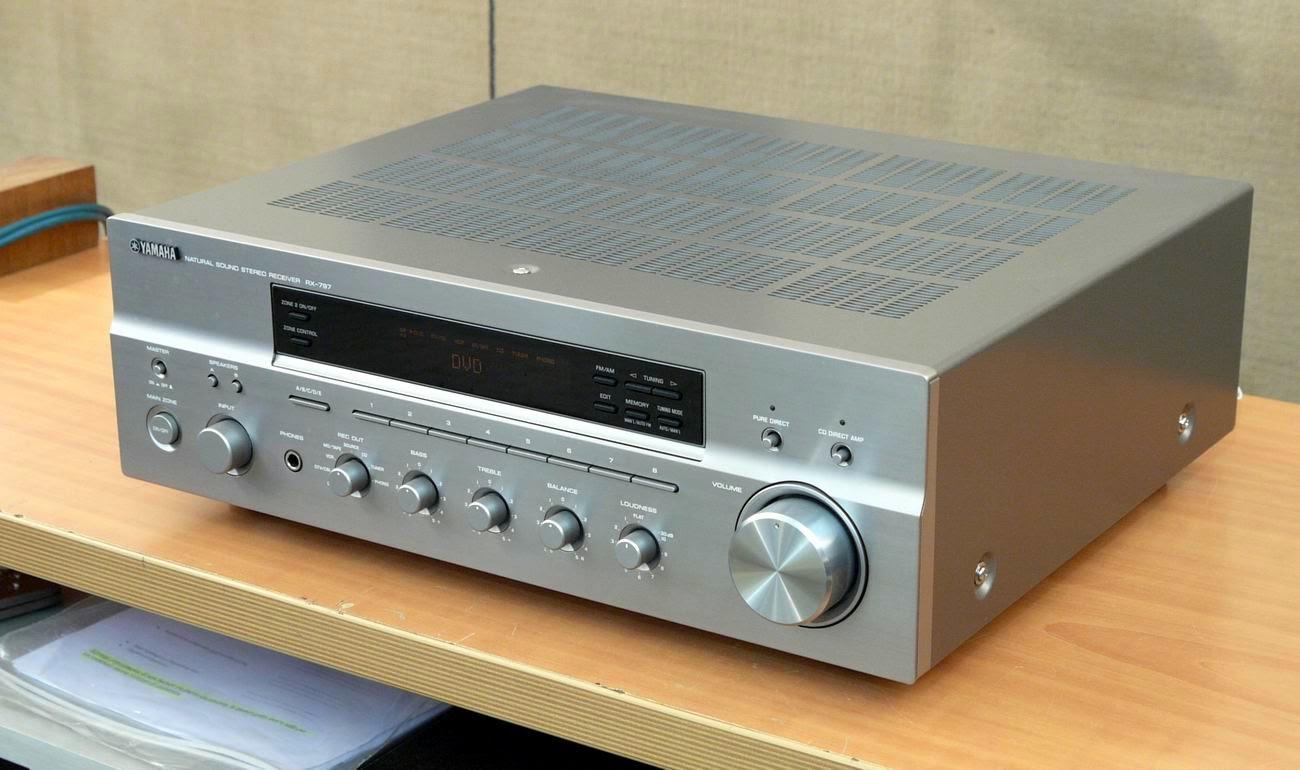 Yamaha Rx 797 Stereo Receiver Audiobaza
