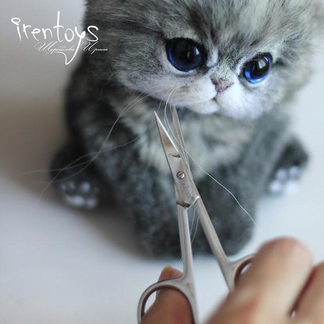 Как сделать усы кота своими руками 898